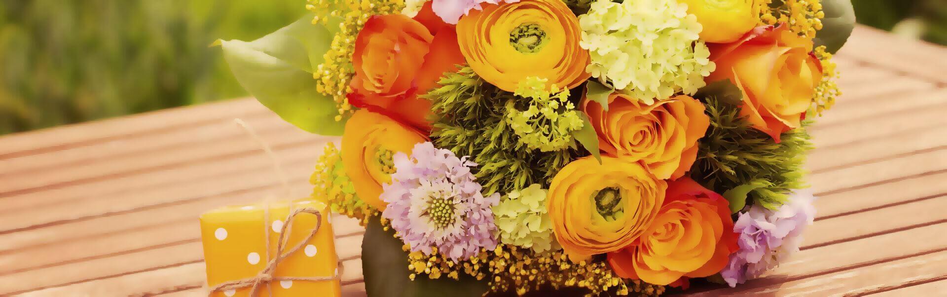 Blumen Header Bild